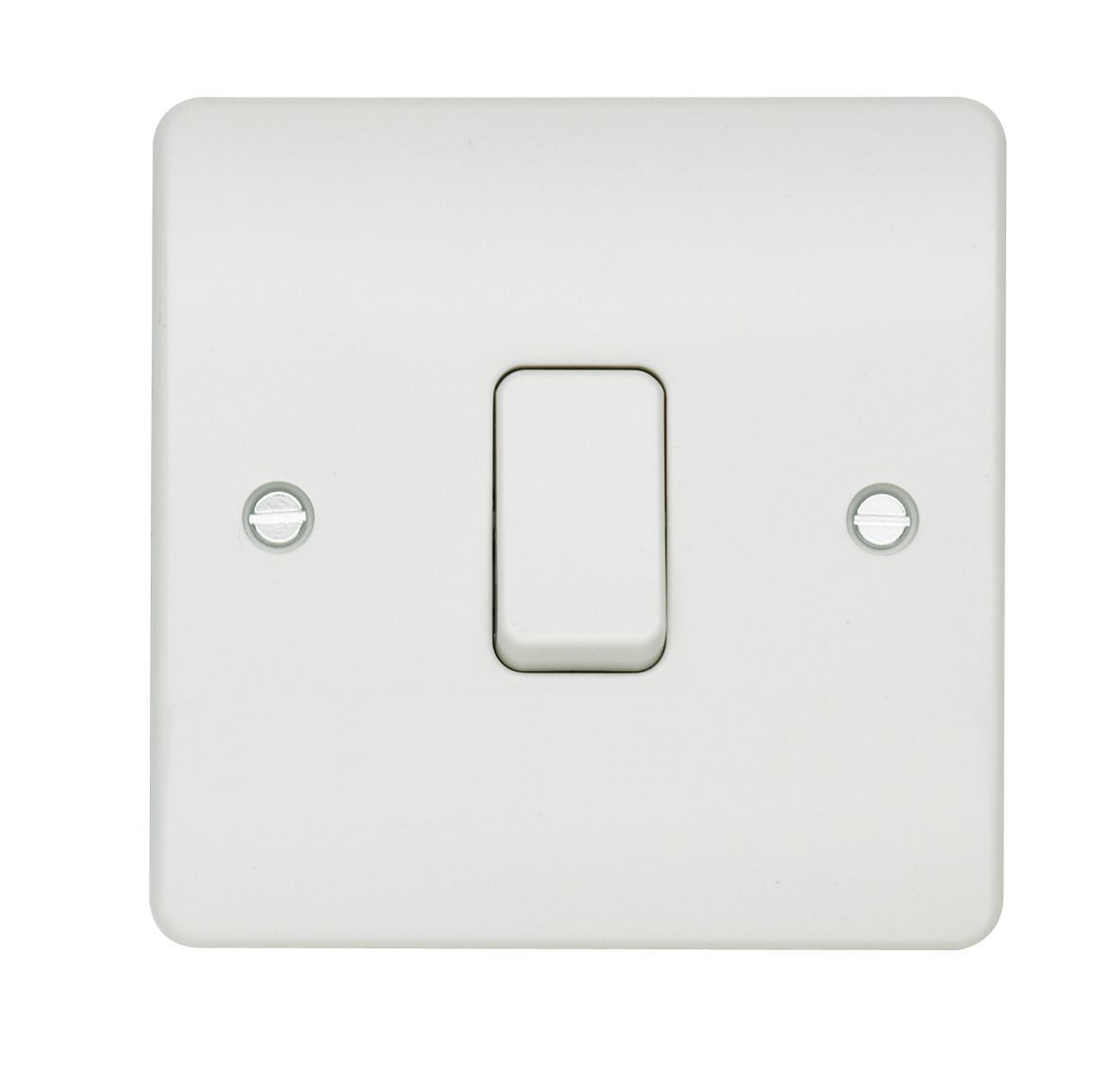 Mk 10a 1 Way Single White Gloss Light Switch Departments