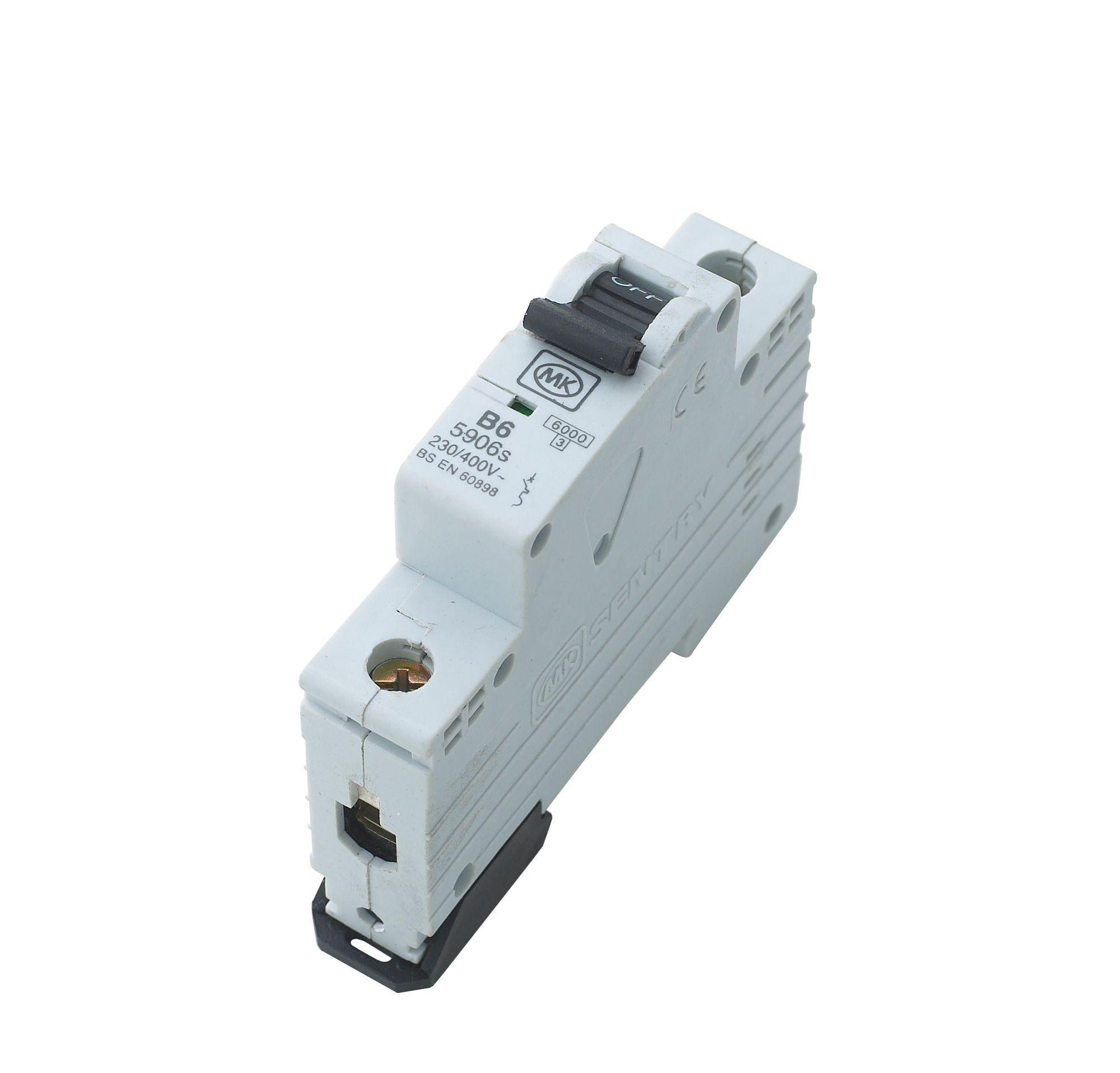 MK 6A MCB (Miniature Circuit Breaker) | Departments | DIY at B&Q
