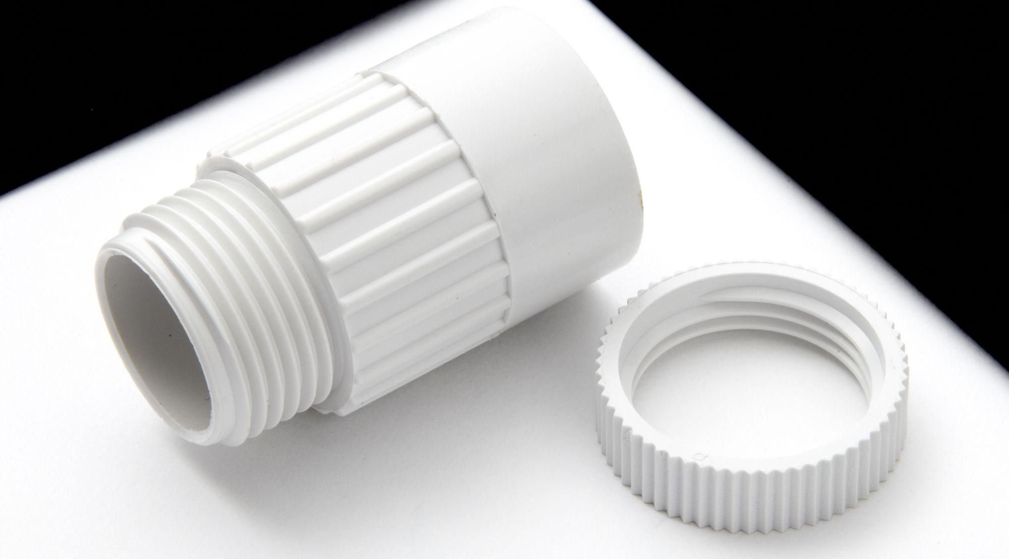 MK White Adaptor (Dia)20mm