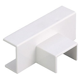 MK ABS Plastic White Ceiling Tee (W)16mm