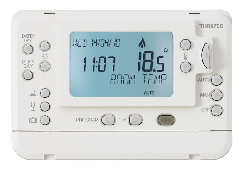 Honeywell Homeexpert Programmable Thermostat | Departments | DIY at B&Q