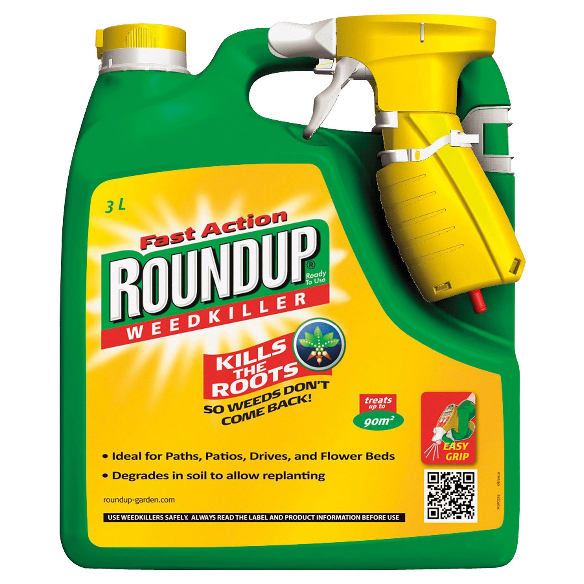 Roundup Fast Action Ready To Use Weed Killer 3l