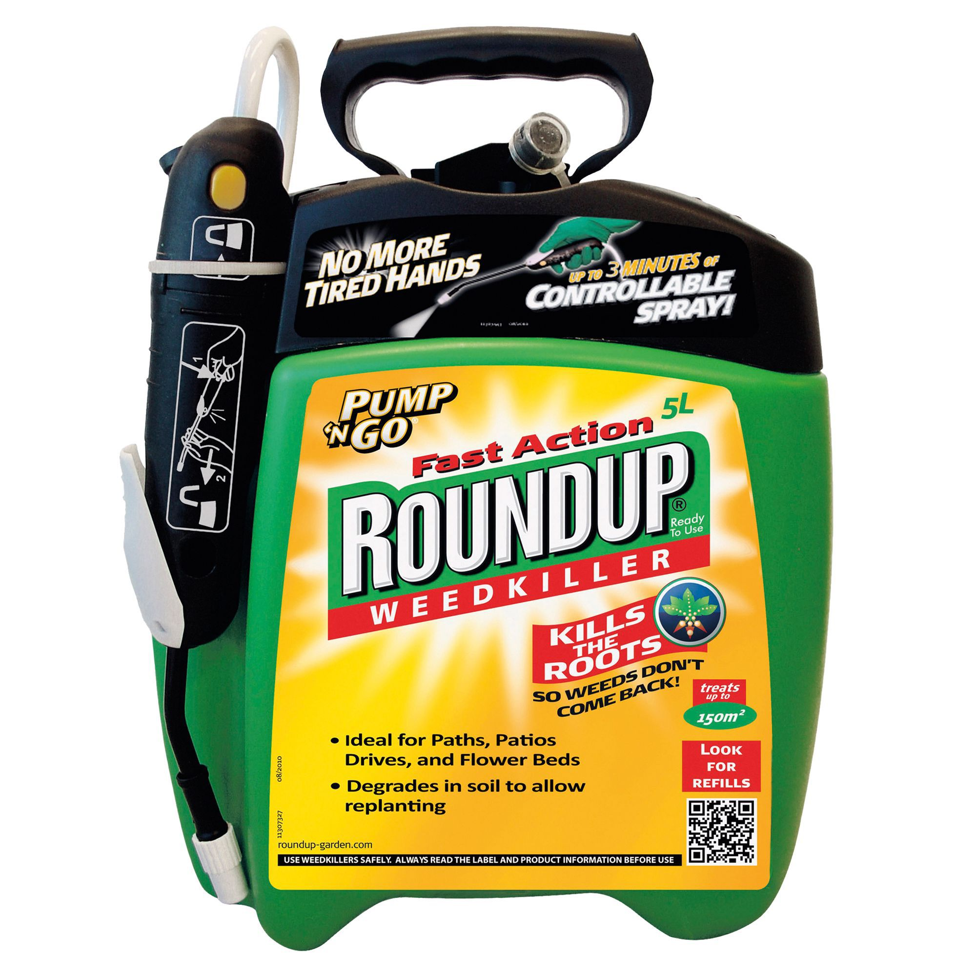 Roundup Fast Action Pump N Go Weed Killer 5l