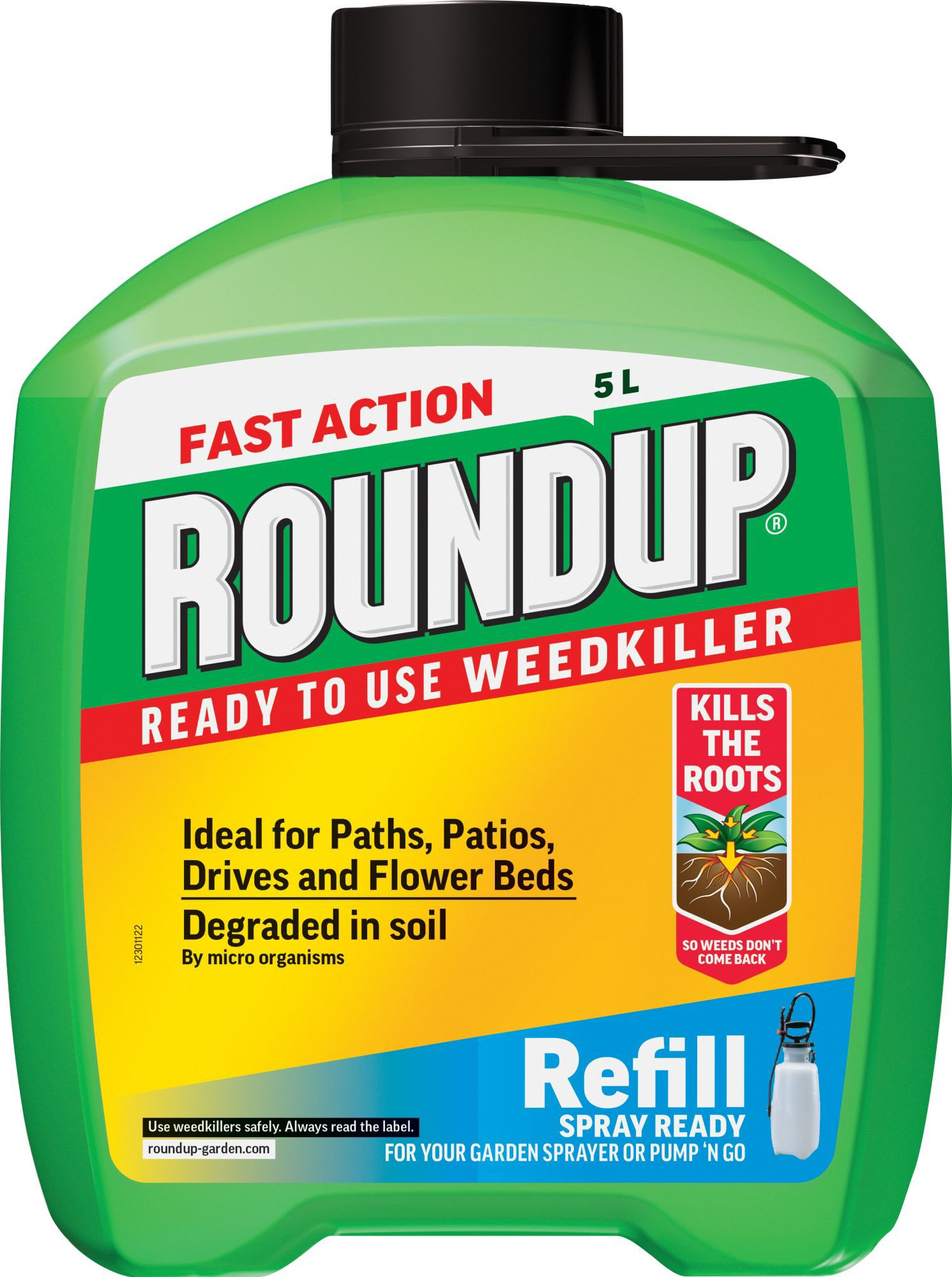 weed killer roundup fast diy ready action 5l