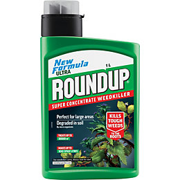Roundup Fast Action Concentrate Weed Killer 1L 1.39kg