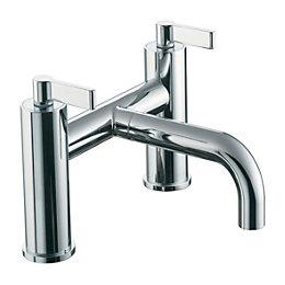 Ideal Standard Silver Chrome Bath Filler Tap