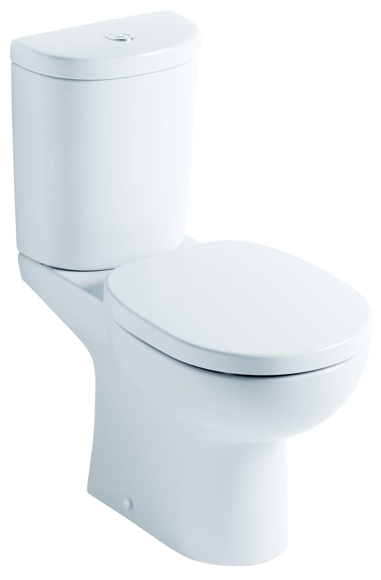 Remarkable Ideal Standard Senses Close Coupled Toilet With Soft Close Seat Departments Diy At Bq Creativecarmelina Interior Chair Design Creativecarmelinacom