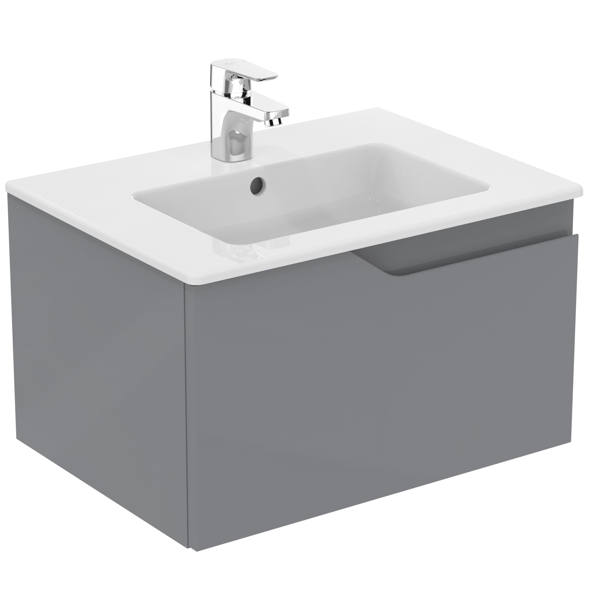 gloss gloss modular bathroom furniture collection vanity. Ideal Standard Imagine Gloss Grey Vanity Unit, Basin \u0026 Mixer Pack | Departments DIY At B\u0026Q Modular Bathroom Furniture Collection Y