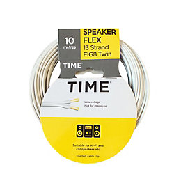 Time 13 Strand Figure 8 Twin Speaker Cable