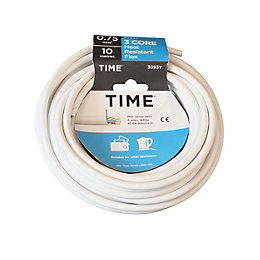 Time 3 Core Heat Resistant Flexible Cable 0.75mm²
