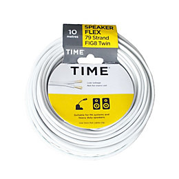 Time core Figure 8 twin speaker cable 0.2mm²