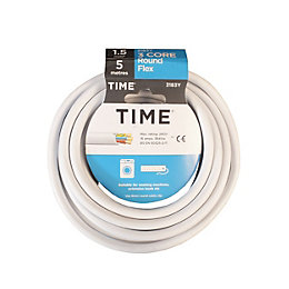 Time 3 Core Round Flexible Cable 1.5mm² 3183Y