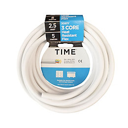 Time 3 Core Heat Resistant Flexible Cable 2.5mm²