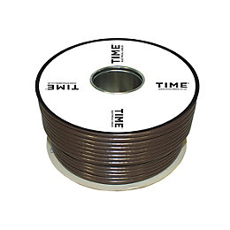 Time Coaxial Cable Brown 50m