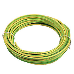 Time Single Core Conduit Cable 6mm² 6491B Green