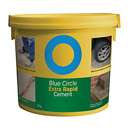Blue Circle Extra Rapid Cement 5kg Resealable Plastic