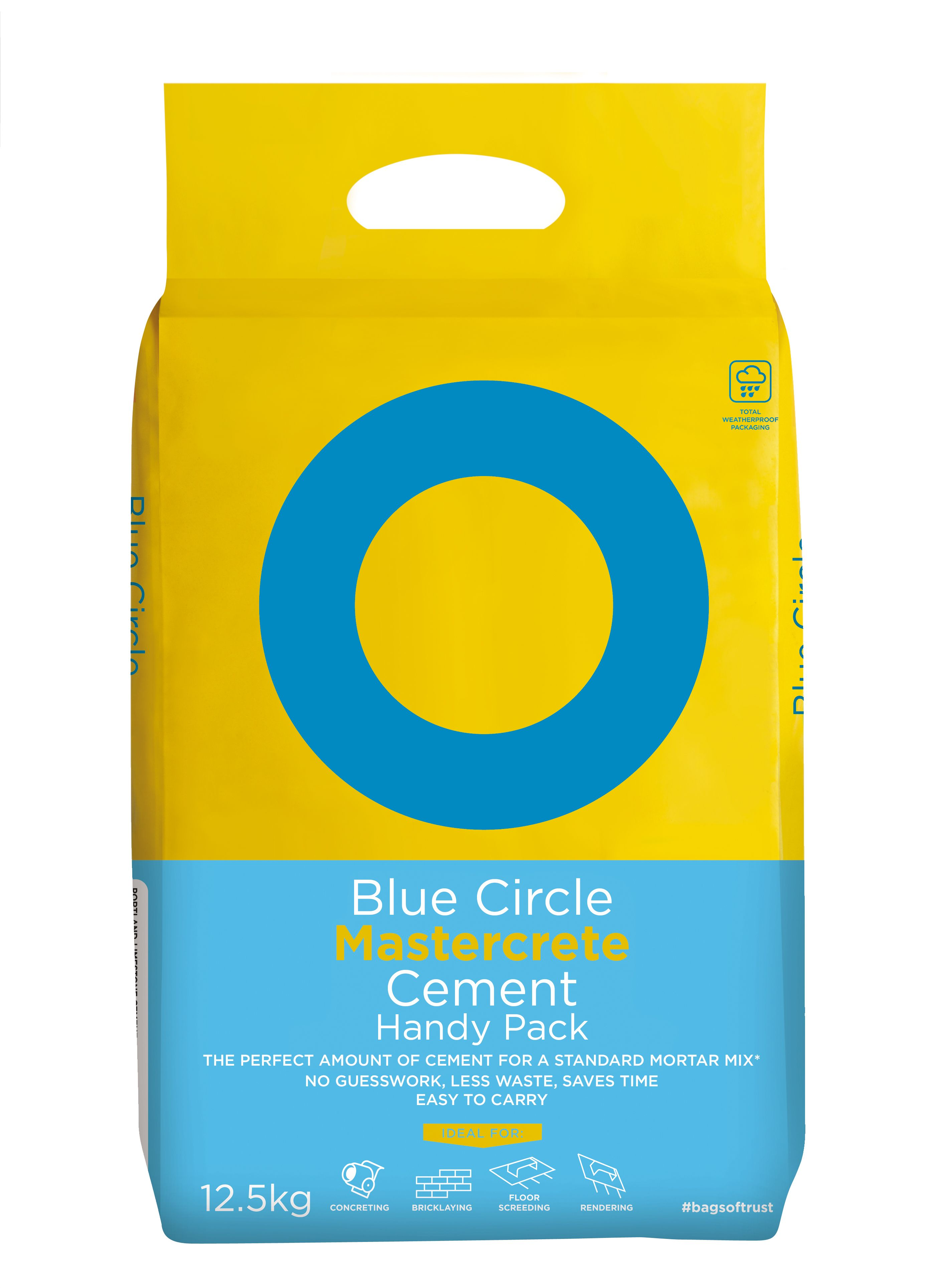 Blue Circle Mastercrete Handy Pack Cement 12 5kg Bag