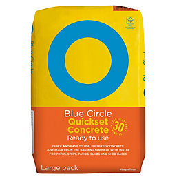 Blue Circle Quick set Ready to use Concrete