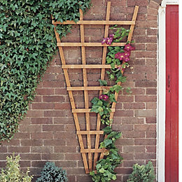 Timber Fan Trellis (H)1.8M(W)0.9 M