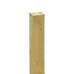 Grange Timber Pale Green Garden Stake (W)25mm (H)1.8M