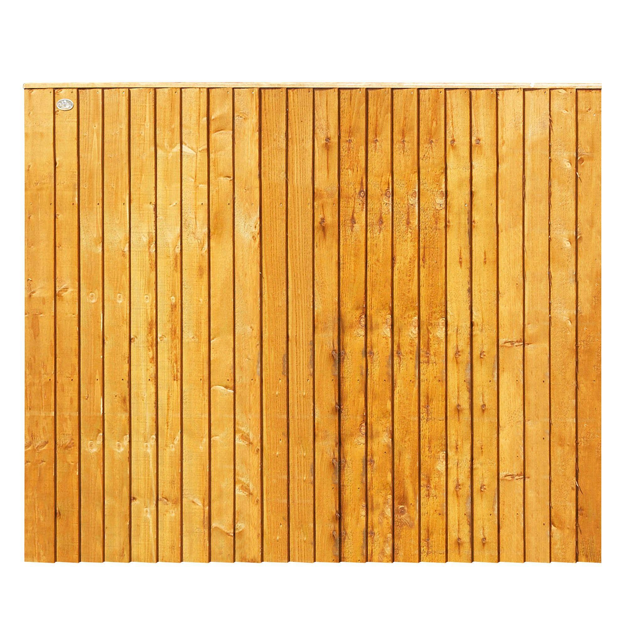 Lap Closeboard Vertical Square Edged