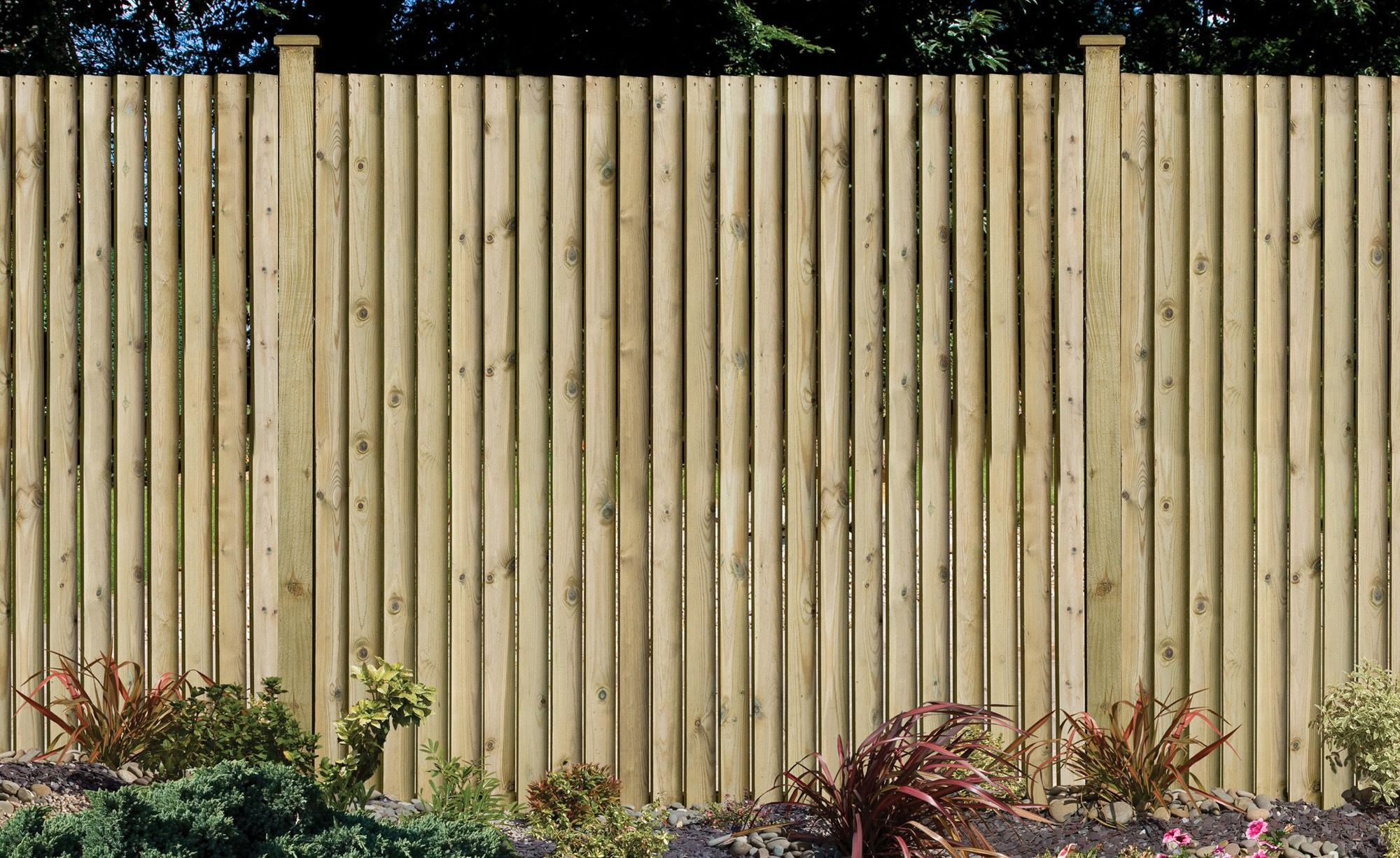 How to repair a wooden fence ideas advice diy at b q How to disguise wood paneling