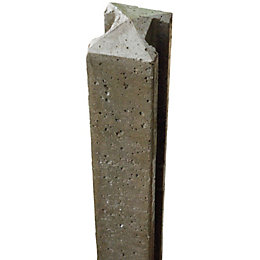 Grange Concrete Fence post (H)1.75m, Pack of 6