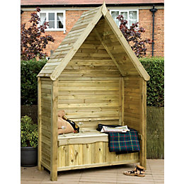 Grange Softwood Arbour