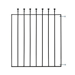 Blooma Metal Ball top Gate (H)0.9m (W)0.77 m