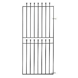 Blooma Metal Ball top Gate (H)1.8m (W)0.77 m