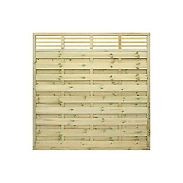 Grange Lille Decorative Horizontal trellis Fence panel (W)1.8