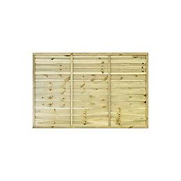 Grange Primo Traditional Horizontal slat Fence panel (W)1.83