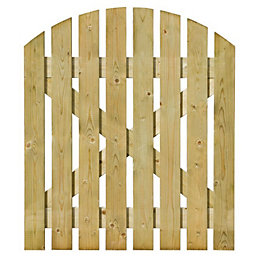 Grange Timber Domed Gate (H)1.05m (W)0.9 m