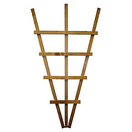 Timber Fan Trellis Panel (H)1.1M(W)0.61 M
