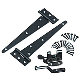 Grange Steel T-hinges & auto latch kit