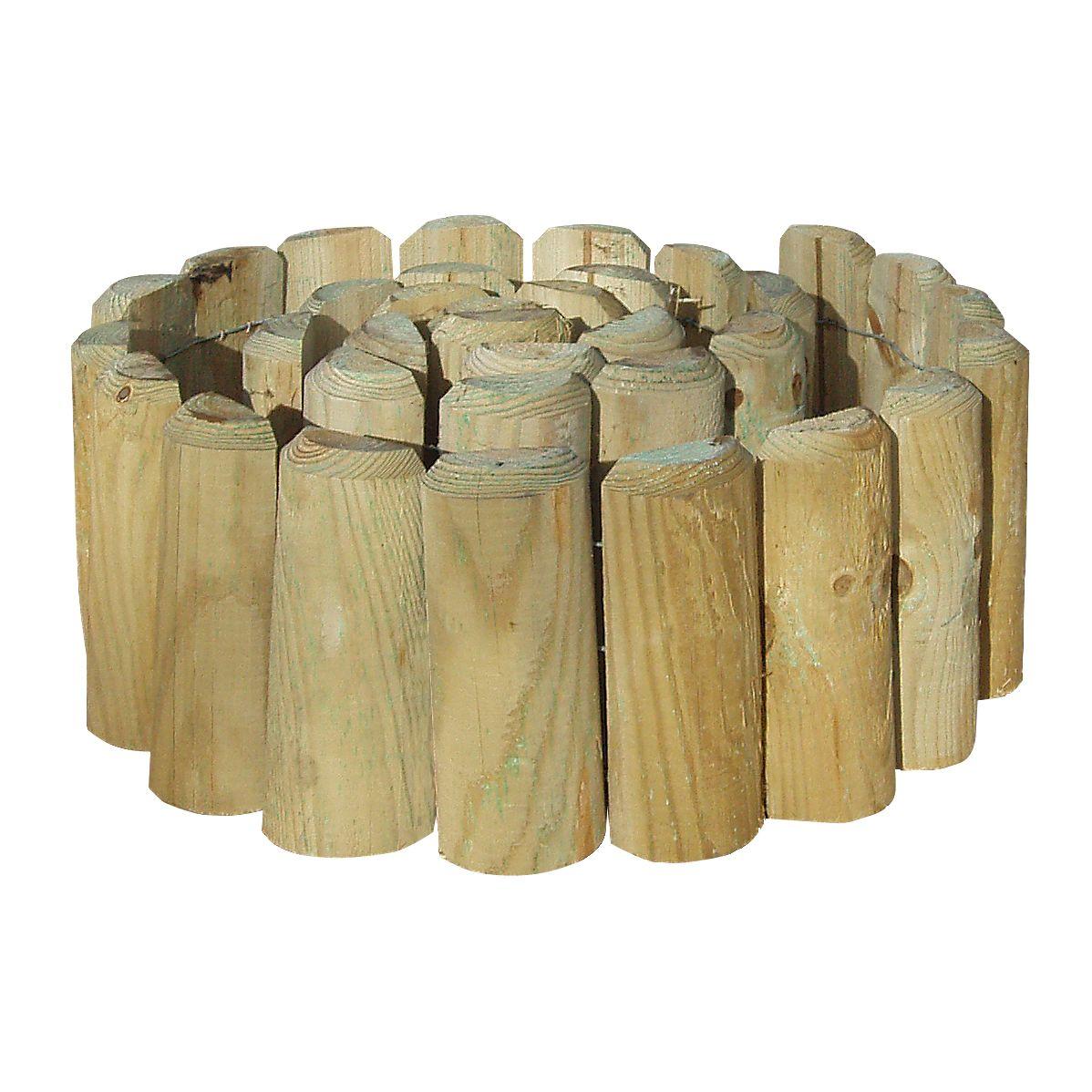 grange timber log edging pack of 1 departments diy at b q. Black Bedroom Furniture Sets. Home Design Ideas