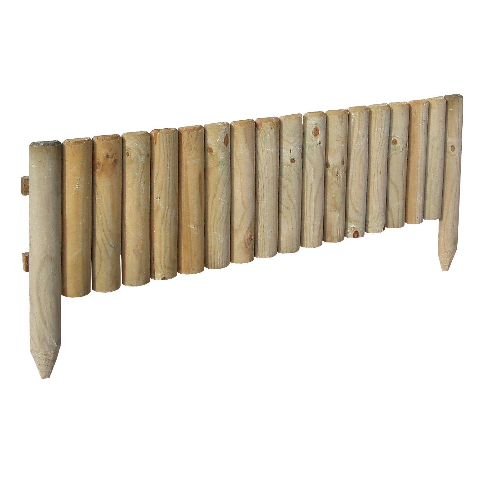 Grange Green Timber Border Edging Pack Of 1 Departments