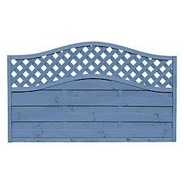 Grange Woodberry Horizontal slat Fence panel (W)1.8 m