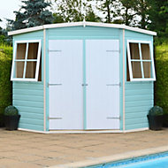 8x8 Murrow Pent Shiplap Wooden Shed With assembly service