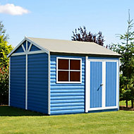 10x10 Mammoth Loglap Wooden Workshop With assembly service