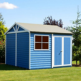 10X10 Mammoth Loglap Timber Shed with Assembly Service