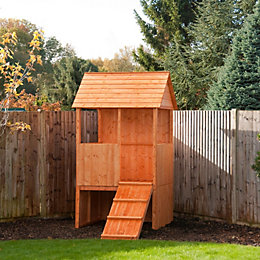 5X4 Lookout Playhouse with Assembly Service