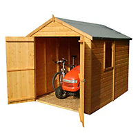 8x6 Warwick Apex roof Shiplap Wooden Shed