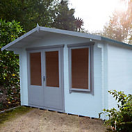 11x10 Berryfield 19mm Tongue & Groove Log cabin With assembly service