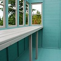 10x6 Sun Pent Pent Shiplap Wooden Shed
