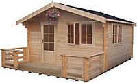 Kinver 34mm Tongue & Groove Log cabin