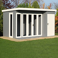 12x8 Aster Shiplap Summerhouse With assembly service