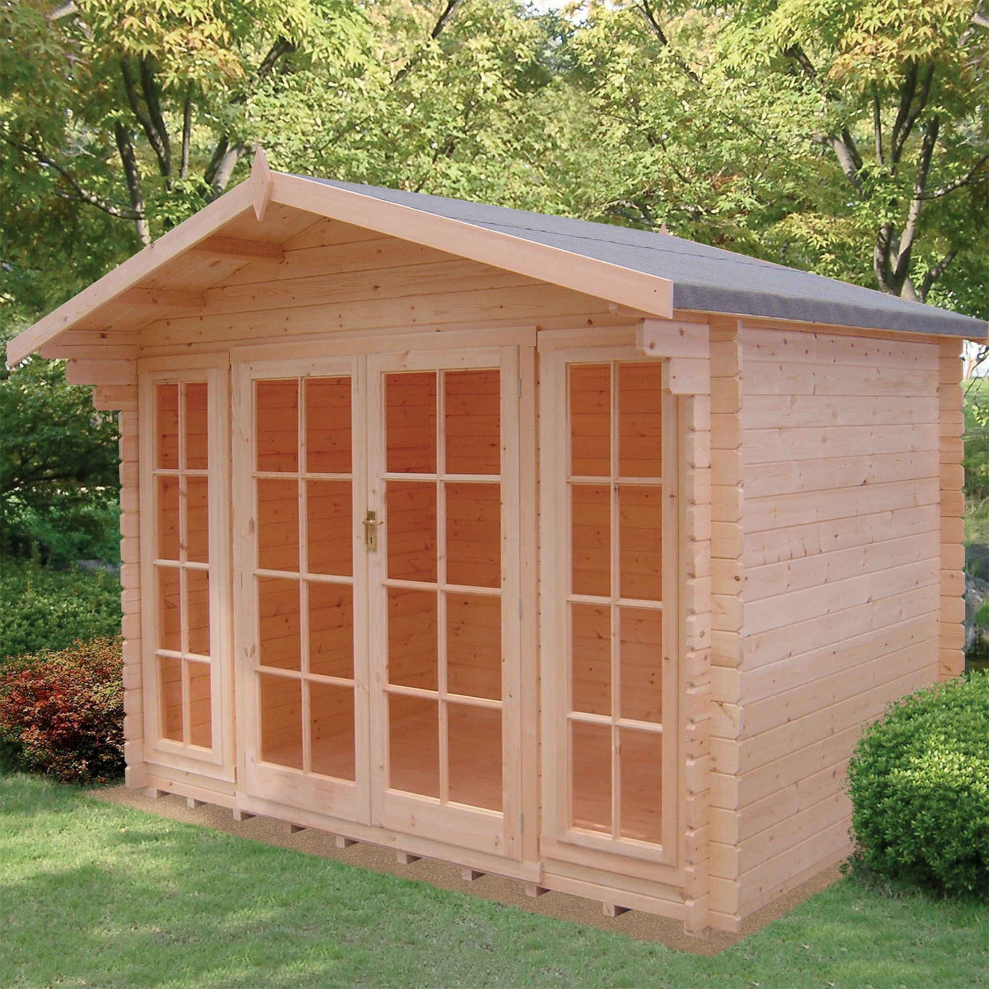 10x6 Epping 28mm Tongue & Groove Log cabin