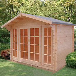10x12 Epping 28mm Tongue & Groove Log cabin