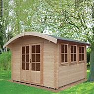 12x12 Kilburn 28mm Tongue & Groove Log cabin